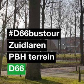 12 maart 2018 D66 bustour in ZUidlaren