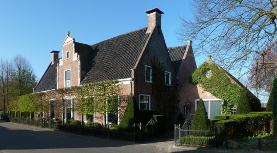 Het oude gemeentehuis in Eelde